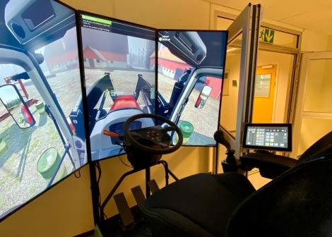 Bilde: traktorsimulator